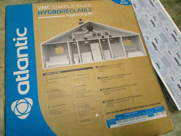 Kit électrique pour habitation - ventilation